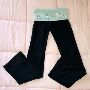 Victoria's Secret PINK bling yoga pants